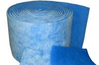 Flo Tec Incorporated - Filter Media Experts - Leaders in Non-Woven Technologies - bluewhite_poly_material